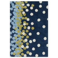 Surya Carver 3-Foot 3-Inch x 5-Foot 3-Inch Accent Rug in Navy