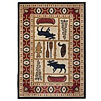 Orian Elkin Creek 5-Foot 3-Inch x 7-Foot 6-Inch Area Rug in Sand