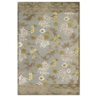 Feizy Marin Blooms 9-Foot 8-Inch x 12-Foot 7-Inch Indoor/Outdoor Area Rug in Grey