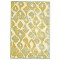Feizy Marin Faded Diamonds 9-Foot 8-Inch x 12-Foot 7-Inch Multicolor Indoor/Outdoor Area Rug