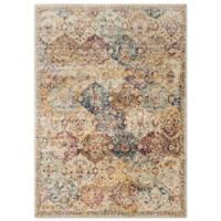 Anastasia Diamonds 94-Inch x 31-Inch Rug in Ivory
