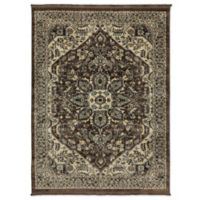 Mohawk Home Anotolia 6-Foot 6-Inch x 9-Foot Area Rug in Brown