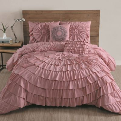 Buy Comforter Sets Pink Bedding From Bed Bath Amp Beyond