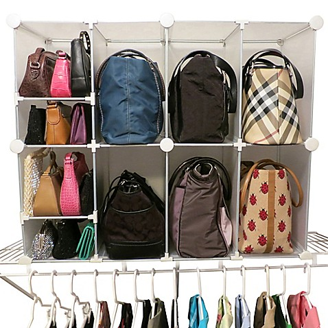 Park A Purse 174 Tote And Clutch Organizer Bed Bath Amp Beyond