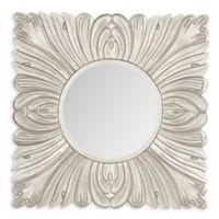 Safavieh Acanthus Mirror in Pewter