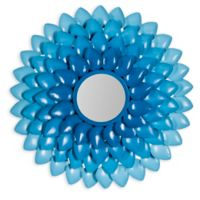 Safavieh Chrissy Mirror in Blue