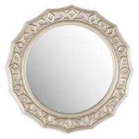 Safavieh Gossamer Lace Mirror in Pewter