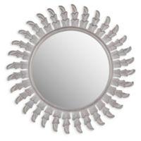 Safavieh Inca Sun Mirror in Grey