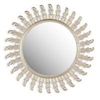 Safavieh Inca Sun Mirror in Pewter