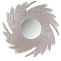 Safavieh Nuveau Wave Mirror in Grey