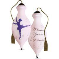 "Ne'Qwa ""Music, Grace, Expression"" Ballerina Ornament"