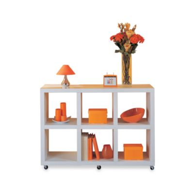 Organize It All Dawn Collection 6 Section Bookcase