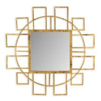 Safavieh Matrix Mirror in Gold