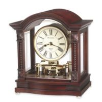 Bulova Sebastian Table Clock in Walnut