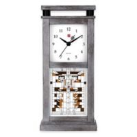 Bulova Waterlillies Table Clock