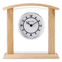 Bulova Athena Table Clock