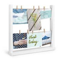 Umbra® Hangit Desk Photo Frame Display in White