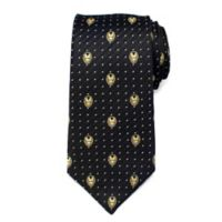 Marvel® Iron Man Dot Tie in Grey
