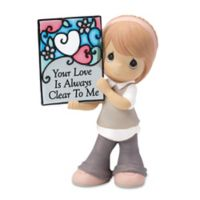 "Precious Moments® ""Your Love is Always Clear To Me"" Girl Figurine"