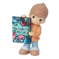 "Precious Moments® ""You Light Up My Life"" Boy Figurine"