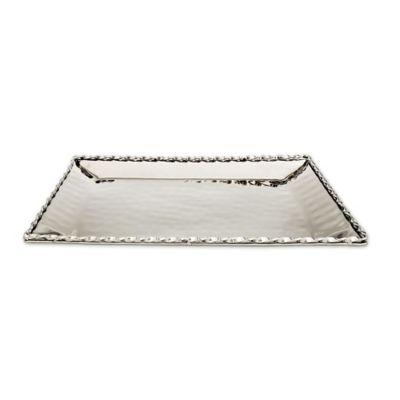 Well-liked Buy Silver Rectangular Tray from Bed Bath & Beyond NI52