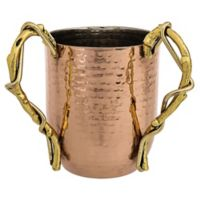 Classic Touch Copper Wash Cup