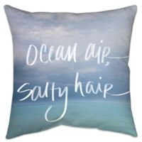 Ocean Air Indoor/Outdoor Throw Pillow