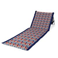 Picnic Time® Beachcomber Portable Multi-colored Beach Mat