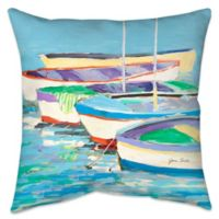 Row Your Boat Indoor/Outdoor Throw Pillow