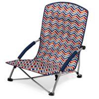 Picnic Time® Tranquility Portable Beach Chair in Chevron Print