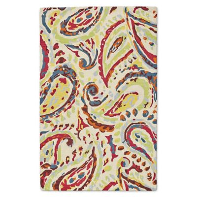 Feizy Lonni Paisley 9 Foot X 12 Foot Indoor/Outdoor Multicolor Area Rug