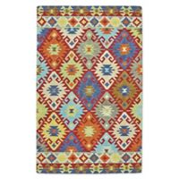 Feizy Lonni Southwest Diamonds 12-Foot x 15-Foot Indoor/Outdoor Multicolor Area Rug