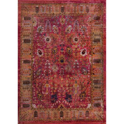 buy red area rugs from bed bath & beyond