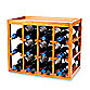 Wine Enthusiast 12-Bottle Wooden Wine Rack