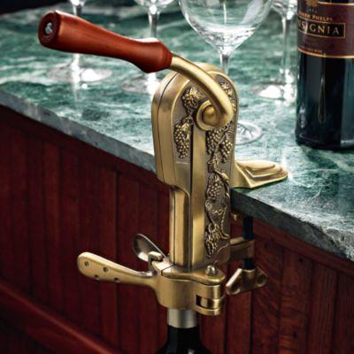 Wine Enthusiast Legacy Bronze Corkscrew