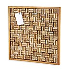 Wine Enthusiast 22-Inch x 22-Inch Cork Board