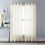 Wamsutta 108-Inch Grommet Top Sheer Window Curtain Panel in Ivory