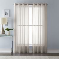 Wamsutta 95-Inch Grommet Top Sheer Window Curtain Panel in Linen