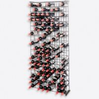 Wine Enthusiast 144-Bottle Metal Grid Wine Rack