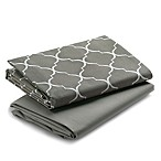 Graco® Pack 'n Play® 2-Pack Waterproof Sheets in Beige/Charcoal Grey