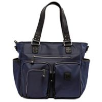 Cee Cee & Ryan Kennedy Diaper Bag in Midnight Blue