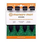 Monkey Mat® 4-Pack  Stake set