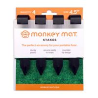 Monkey Mat® 4-Pack Monkey Mat Stakes