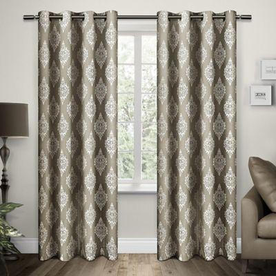 Buy Taupe Curtain Panel from Bed Bath & Beyond