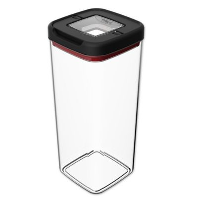T Fal® 12.4 Cup Food Storage Container In Black/Clear