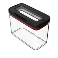 T-Fal Rectangular 1.8 qt. Food Storage Container in Black/Clear