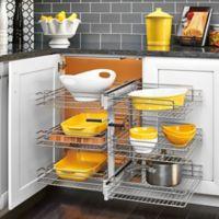 "Rev-A-Shelf® 3-Tiered 15"" Wire Basket Organizer"
