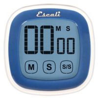 Escali® 3-Inch Touch Screen Digital Timer in Blue