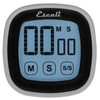 Escali® 3-Inch Touch Screen Digital Timer in Black