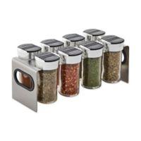 Kamenstein® Stainless Steel 8-Jar Spice Rack